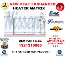 für 1321310080 Wärmetauscher Heizungs Matrix für CITROEN FIAT PEUGEOT