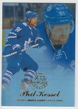 PHIL KESSEL 2014-15 Fleer Showcase Flair Showcase Row 1 Seat 34 Maple Leafs