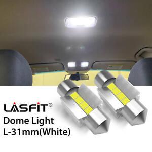 LASFIT DE3022 DE3021 DE3175 31MM LED Dome Roof Light Bulbs for Chevy 6000K White
