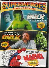 Superheroes Collection  (DVD)The Hulk, Thor  MARVEL comics