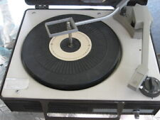 New listing Ge V633H Portable 3-Speed Automatic Record Player Phonograph Needs Drive Belt