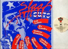 SLASH CUTS green on red/blasters/violent femmes/del fuegos/the knitters/etc LP