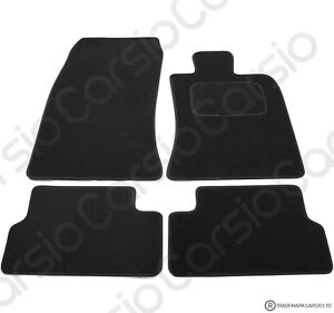 BMW Mini r56 2006 to 2014 Tailored Black Car Floor Mats Carpets 4pc Set
