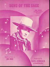 Song of the Sage 1938 John Wayne Stagecoach