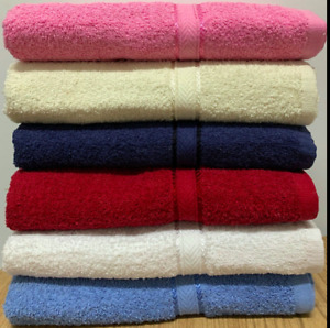 """Holiday Special 6-Pack Bath Towels - Extra-Absorbent - 100% Cotton - 27"""" x 54"""""""