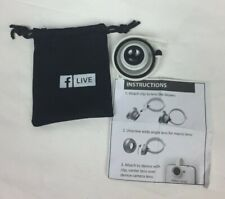 Facebook Live Cell Phone Camera Lens Kit Collector Item