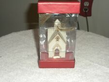 Lenox Low Country Chapel 2nd in Series Ornament - New In Box