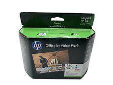 GENUINE HP Genuine 950XL+951XL Ink Set+Photo Paper Value Pack
