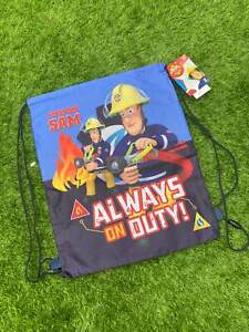 Fireman Sam Drawstring Bag