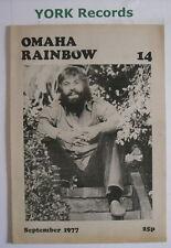 OMAHA RAINBOW 14 - Music Magazine - September 1977 - Steve Fromholz / Albert Lee