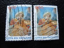 VATICAN - timbre yvert et tellier n° 1112 x2 obl (A28) stamp (Z)