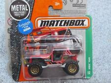 Matchbox 2017 #105/125 MBX 4x4 rouge MBX Explorateurs Boîtier A