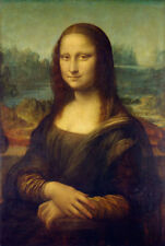 "Mona Lisa by Leonardo Da Vinci, Hand Painted Oil Painting Reproduction, 20""x30"""