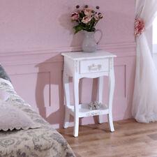 Tables de chevet et rangements campagnes blancs pour la maison