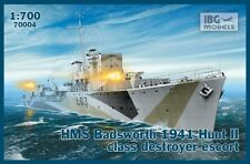 HMS BADSWORTH - WW II ROYAL NAVY HUNT II-CLASS DESTROYER 1/700 IBG