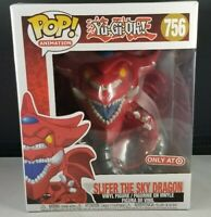 "Original 2020 Funko POP Yu Gi Oh 6"" SLIFER SKY DRAGON 756 NIB UNOPENED Target Ex"