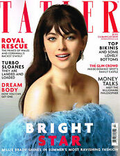TATLER UK July 2015 MILLIE BRADY Charlotte Nolting CHARLOTTE RAMPLING @New@