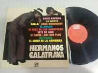 """LOS HERMANOS CALATRAVA HUMOR GRAMUSIC - LP VINILO VINYL 12"""" VG/VG 1976"""