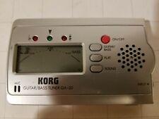 Korg Guitar / Bass Tuner Ga-30 Digital Auto Tuner