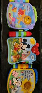 3 baby musical book toys