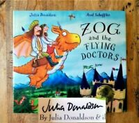 SIGNED EDITION ZOG & FLYING DOCTORS. JULIA DONALDSON (GRUFFALO) 1ST / 3RD PRINT