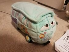 Cars FILLMORE Plush Stuffed Toy Disney Store Exclusive Pixar Hippie Van 8.5 inch