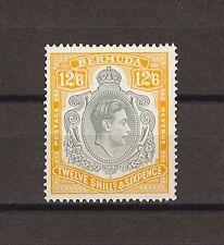"""BERMUDA 1947 SG 120d """"Lemon"""" Fresh MNH Cat £600 . CERT"""
