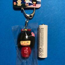 F/S Cute Kawaii Kokeshi Doll Body Moving Key Holder from Kyoto Japan