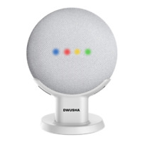 DWUSHA Desktop Pedestal Stand Holder for Google Home Mini Google Nest Mini