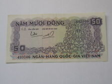 50 Dong South Vietnam Note 1964 (See Photos)
