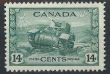 Canada 1942 1943 War Effort 14c Ram Tank SG 385 LMM mint *COMBINED POSTAGE*