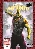 DRAX / 2018-2019 MARVEL ANNUAL (Upper Deck) BASE Trading Card #62