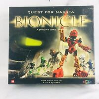 BIONICLE Quest For Makuta ADVENTURE BOARD GAME Lego Bionicles 100% complete