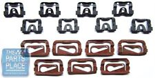 1968-72 GM A Body Front Windshield Molding Clip Kit - 15 Pieces