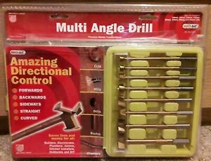 MADBIT Multi Angle Drill Bit Full Set or in Singles from 10mm-35mm/hinge cutter