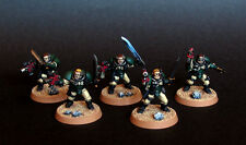Pro painted Warhammer 40k Dark Angels Scout squad miniatures