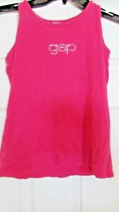 Girls L 10 GAP pink sleeveless tank top