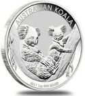 2011 1 Oz Silver $1 Australia KOALA BU Coin.
