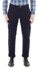 Ben Sherman New Mens Chinos Slim Fit Cotton Stretch Trousers Pants Navy Chino