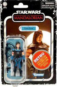 "Cara Dune 3.75"" Action Figure Retro Collection Series 3 Star Wars Mandalorian"