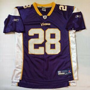 Minnesota Vikings #28 Peterson Youth Jersey by Reebok Size Youth L (14-16) NFL