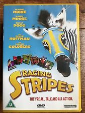 Frankie Muniz Hayden Panettiere RACING STRIPES ~ Zebra Family Comedy UK DVD