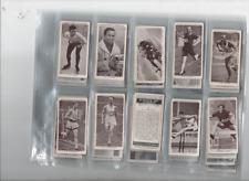 cigarette cards kings of speed 1939 full set