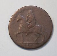 Lady Godiva 1793 Coventry 1/2 Penny World Coin token Great Britain Elephant UK b