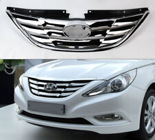 Replacement Front Chrome Hood Bumper Grill for Hyundai Sonata 2011-2013