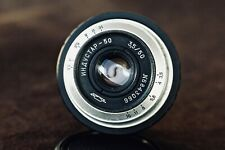 INDUSTAR-50 3.5/50 mount M42 + adapter FX Silver lens USSR