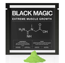 BLACK MAGIC- ALL-IN-1 MUSCLE POWDER! - CREATINE + ZMA + HMB + AMINO ACIDS + BCAA
