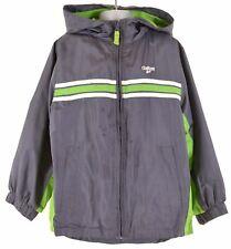 OSHKOSH Boys Hooded Jacket 6-7 Years Grey Polyester  BG10