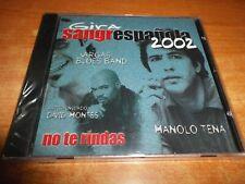 MANOLO TENA No te rindas GIRA SANGRE ESPAÑOLA 2002 CD SINGLE PRECIN DAVID MONTES