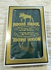 Vintage Moose Drool Beer Deck of Playing Cards